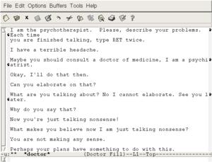 Ejemplo de conversación